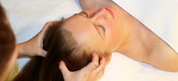Aromatherapy Head and Face Massage
